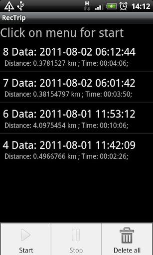 Record route