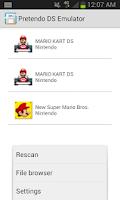 Screenshot of Pretendo NDS Emulator