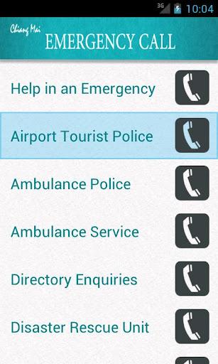 Chiang Mai Emergency Call