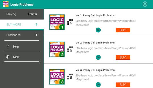 Logic Problems - Classic!- screenshot thumbnail