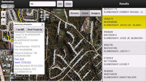 Henderson County Parcel Viewer