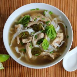 Chinese 5 Spice Chicken Noodle Soup