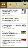 Screenshot of Bargainmoose Deals