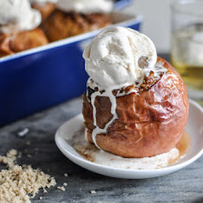 Bourbon Baked Apples