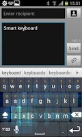 Screenshot of Cube Keyboard Skin