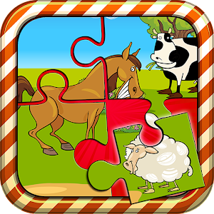 Farm Animals Puzzle For Kids