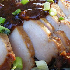 Chicken With Hoisin Tea Sauce
