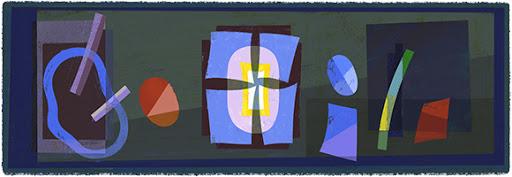 Google Doodle Emilio Pettoruti's 121st Birthday