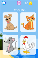 Screenshot of I learn Animals - for kids