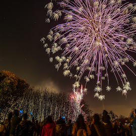 fire works by Nicholas Yuen - Abstract Fire & Fireworks ( #fire #works #fireworks #bonfire #night )