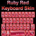 Ruby Red Keyboard Skin icon
