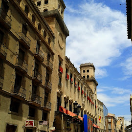Alicante Centre by Helen Roberts - City,  Street & Park  Historic Districts