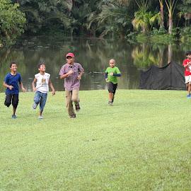 Run Back by Koh Chip Whye - Babies & Children Children Candids (  )