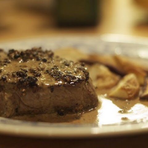 Our Steak Au Poivre
