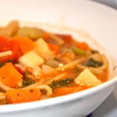 No Fat Minestrone Soup