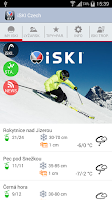 Screenshot of iSKI Czech