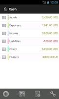 Screenshot of Cash