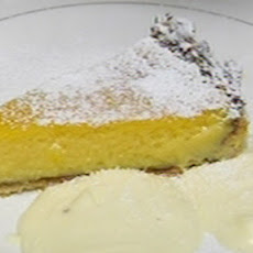 Passion Fruit And Orange Tart With Vanilla Mascarpone