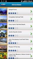 Screenshot of Florida Keys Offline Map Guide