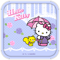 Hello Kitty Raining Day Theme