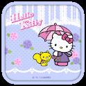 Hello Kitty Raining Day Theme