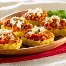 Chicken & Chorizo Sopes
