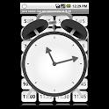 Just wake me up (alarm clock) icon