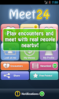 Screenshot of Meet24 - fall in love!