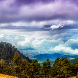 Mountain and city view by Cristobal Garciaferro Rubio - Landscapes Travel