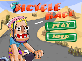 Screenshot of Bicycle race
