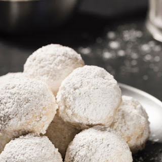 Low Carb Grain Free Snowball Cookies