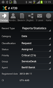 Nilex Mobile Helpdesk - screenshot