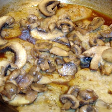 Veal Scallops with Mushrooms and Herbs
