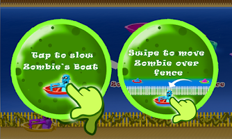 Screenshot of Zombie Tsunami - Boat Escape