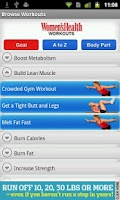 Screenshot of Women's Health Workouts Lite