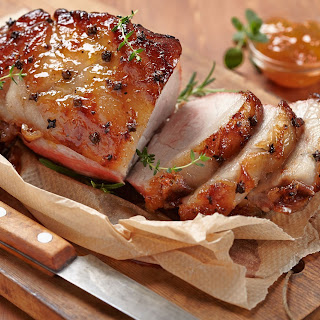 Apricot and Orange Glazed Pork Roast