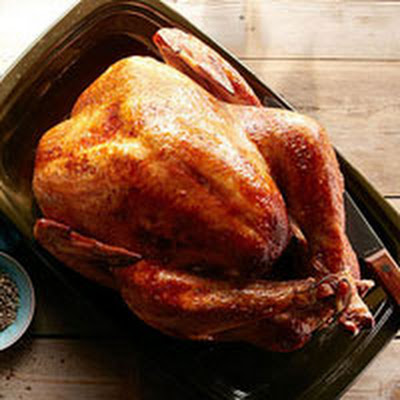 Buttermilk-Marinated Turkey with Onion Gravy