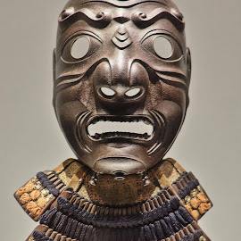 Samuri mask  by Chuck Jones - Artistic Objects Clothing & Accessories