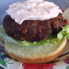 Tukey Burgers (Adapted from Bobby Flay's Turkey Kofte Recipe