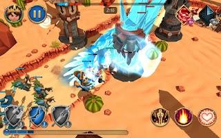 Screenshot of Royal Revolt 2
