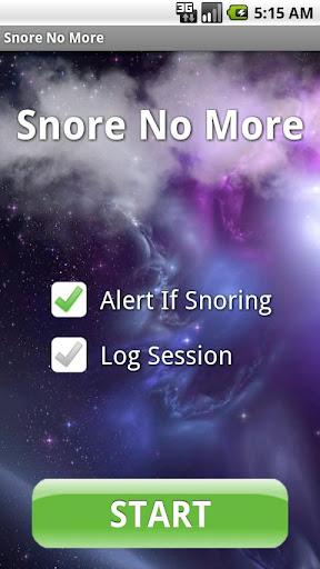 いびきストップ!Snore No More