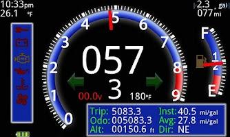 Screenshot of Portable Dashboard
