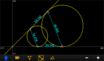 Screenshot of GEO CALC LITE [ Phone/Tablet ]