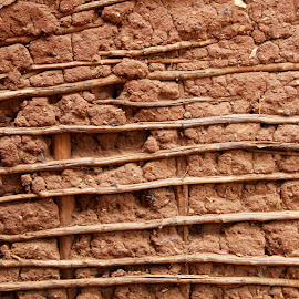 Mud and Sticks by Deborah Arin - Buildings & Architecture Other Exteriors ( building, detail, mud, texture, primitive )