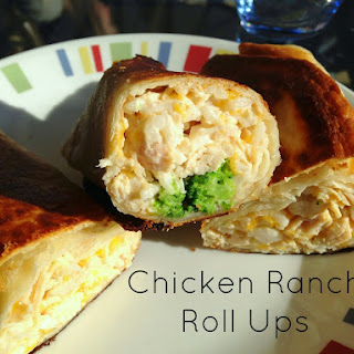 Chicken Ranch Roll Ups