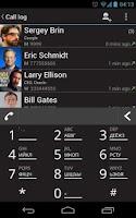 Screenshot of Dialer One - free smart dialer