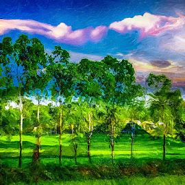Landscape-290312 by Rajjib's Photo - Illustration Places ( digital art, sketch, painting, illustration )