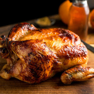 Roast Chicken With Cumin, Honey and Orange