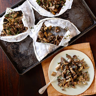 Mushroom Medley in Parchment with Rosemary and Gremolata