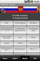 Screenshot of Talk Russian (Free)